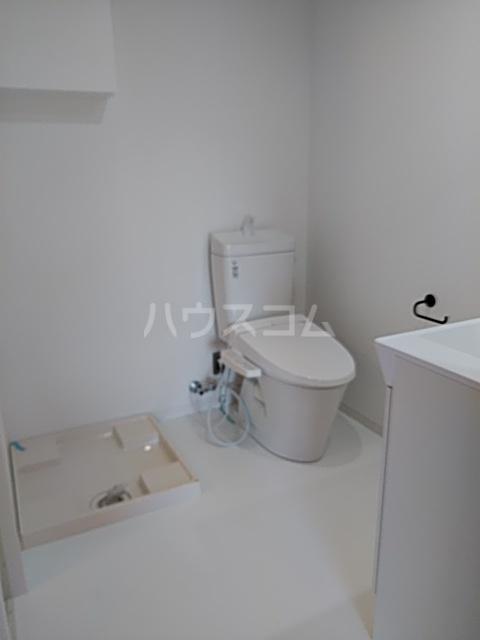 いろどりの杜 412号室のトイレ