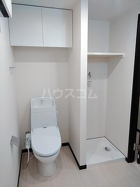 エルスタンザ綾瀬DEUX 104号室のトイレ