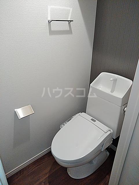 エルスタンザ綾瀬DEUX 203号室のトイレ