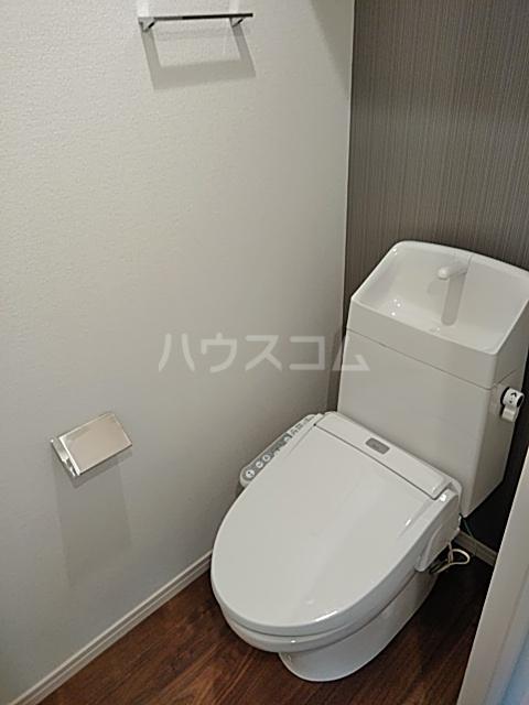 エルスタンザ綾瀬DEUX 207号室のトイレ