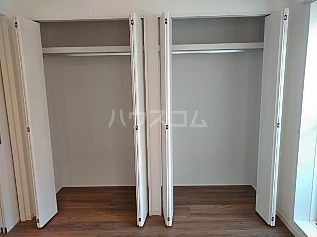 エルスタンザ綾瀬DEUX 207号室の収納
