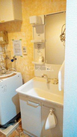 コミュニティハウス綾瀬 201号室の洗面所