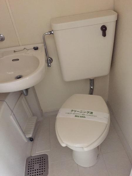 スカイハイツオダ 4C号室のトイレ