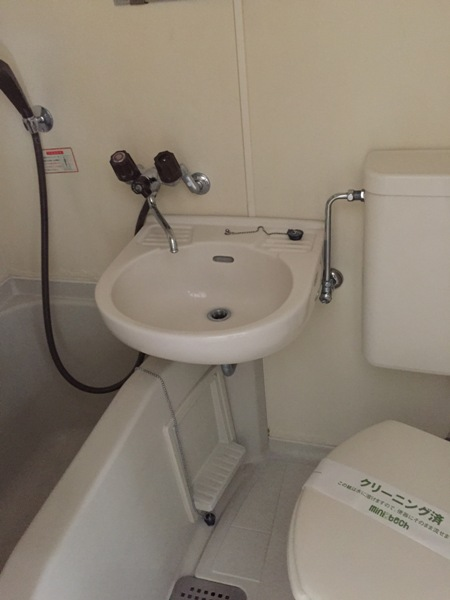 スカイハイツオダ 4C号室の洗面所