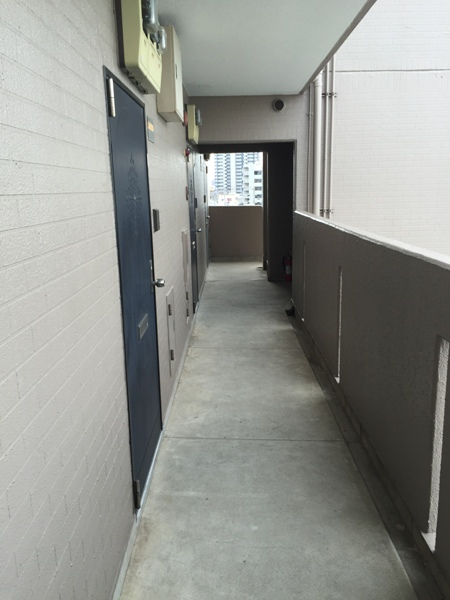 スカイハイツオダ 4C号室の玄関