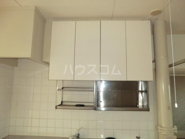 中駒九番団地 3号棟 1025号室のキッチン