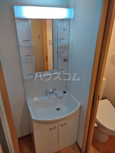 A-city港十一屋 401号室の洗面所