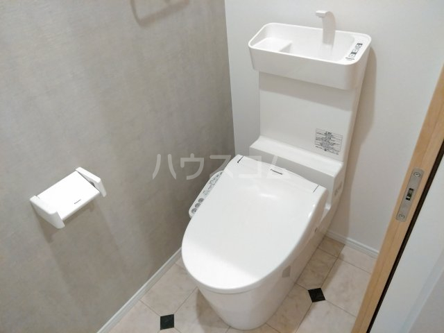 BR四街道 202号室のトイレ