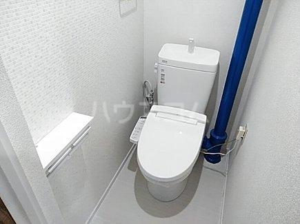 千代田グリーンハイツ 402号室のトイレ