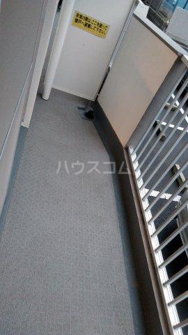 第2サンハイツ大森 102号室のバルコニー