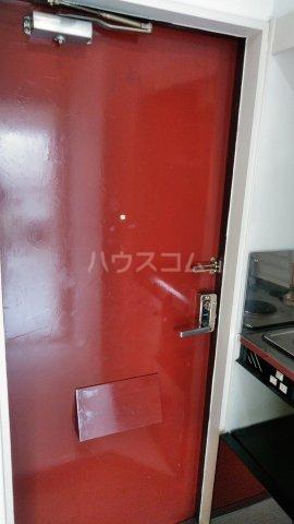GAIA小幡 205号室の玄関