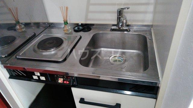 GAIA小幡 205号室のキッチン