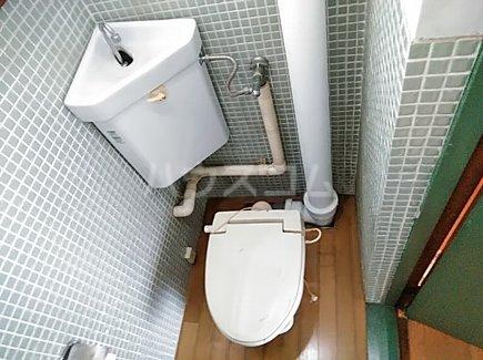 大森西住宅9号棟 103号室のトイレ