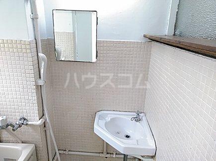 大森西住宅9号棟 103号室の洗面所