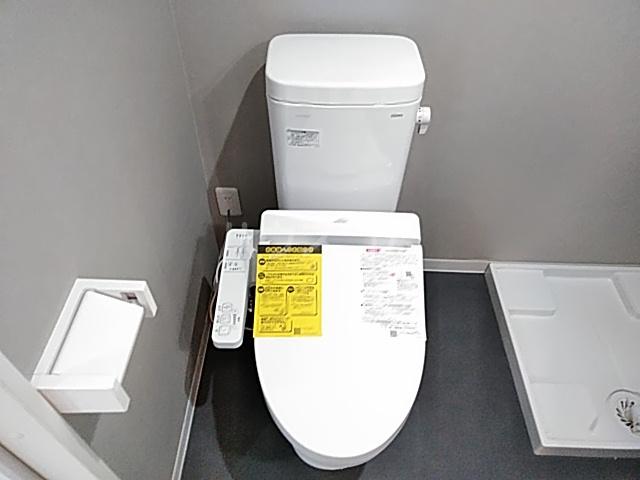 サンライズK 302号室のトイレ