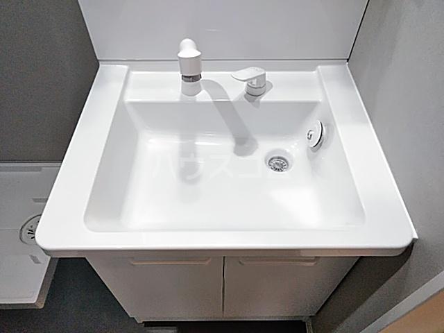 サンライズK 302号室の洗面所