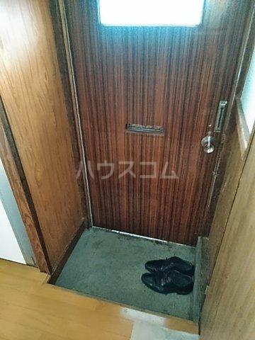 第一小川荘 10号室の玄関