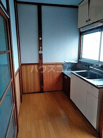 第一小川荘 10号室のキッチン