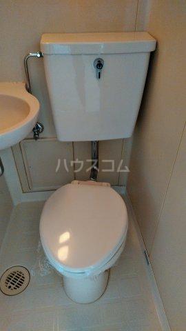 ロアール亀有 502号室のトイレ