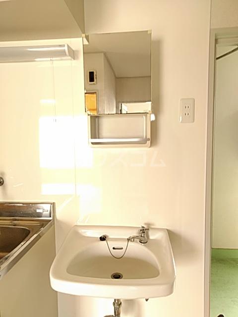 日設マンション 302号室の洗面所