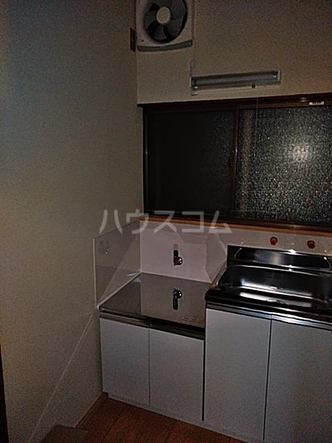 キングハイツ  202号室のキッチン