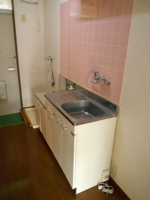 第三ダイケンハイツ 201号室のキッチン