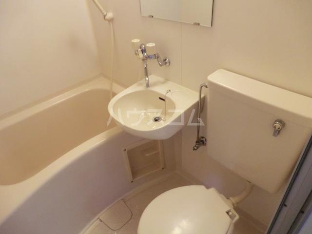HOPEプラザ 303号室の洗面所