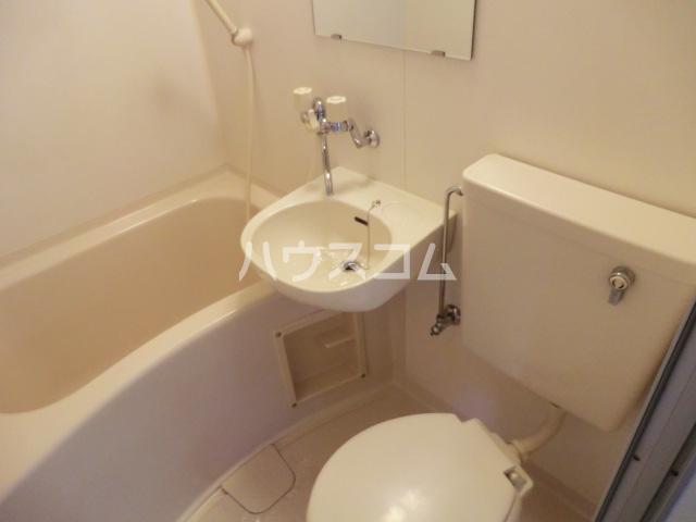 HOPEプラザ 303号室のトイレ