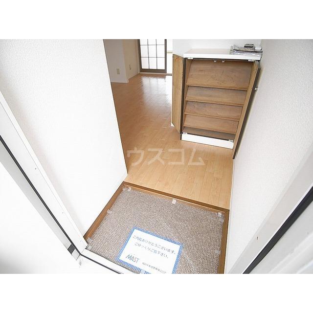 ベアーハイツ 102号室の玄関