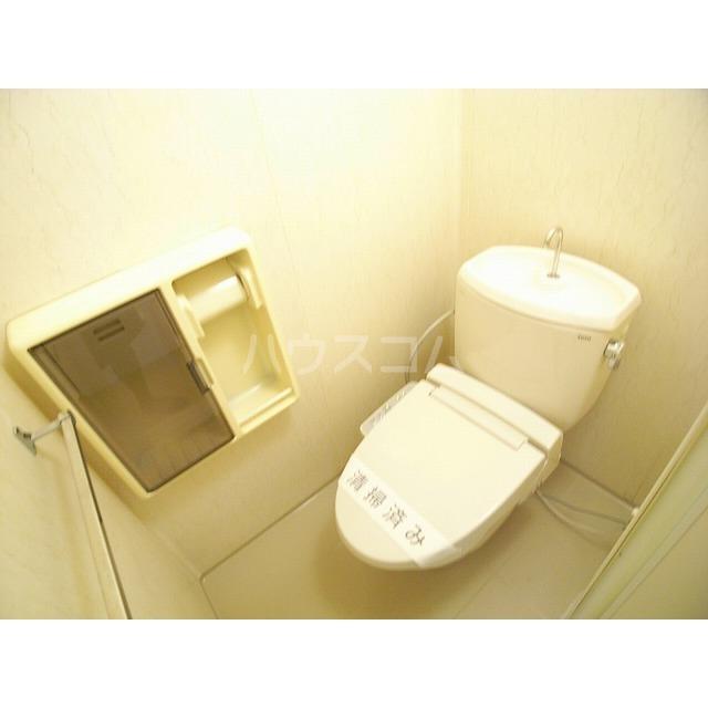 ベアーハイツ 102号室のトイレ
