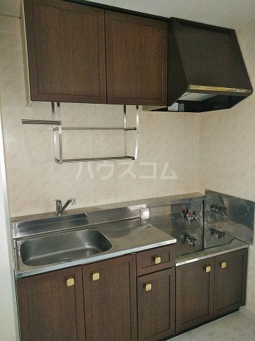 ハイム北浦和 302号室のキッチン