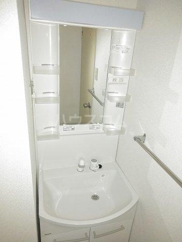 ハイム北浦和 302号室の洗面所