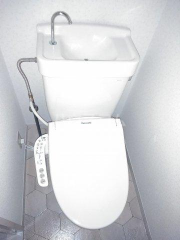 ハイム北浦和 302号室のトイレ