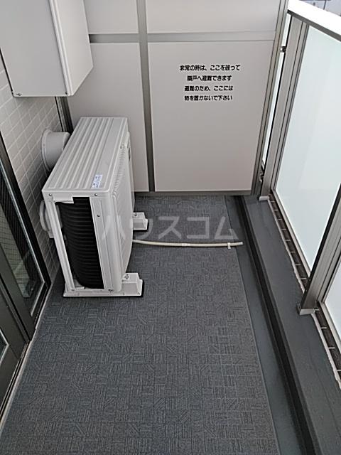 フェリシア浦和常盤 701号室のバルコニー