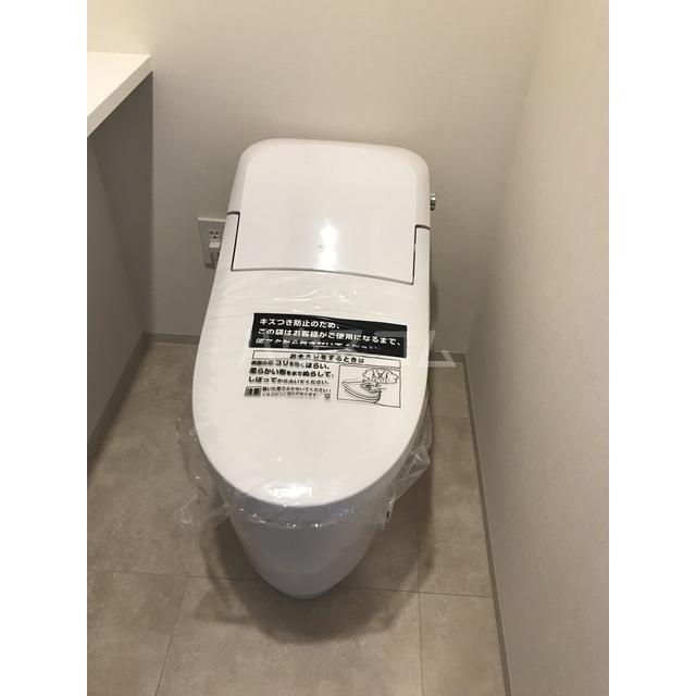 グランカーサ北浦和 605号室のトイレ