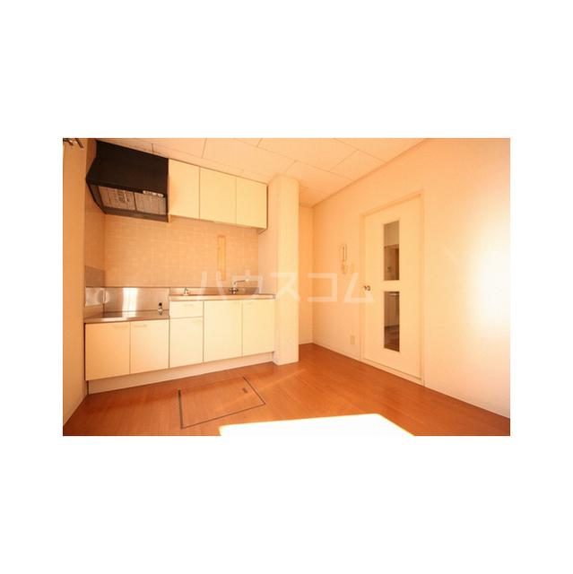 パークハイツ白鍬A 201号室のキッチン