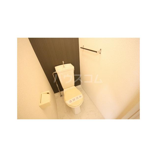 パークハイツ白鍬A 201号室のトイレ