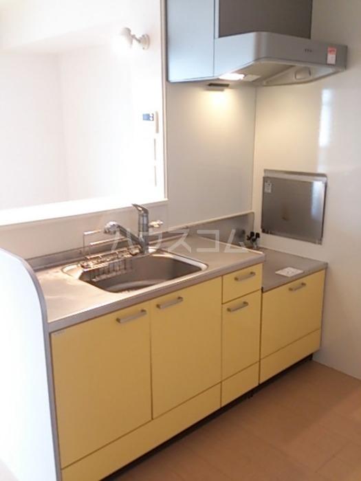 ジャルダン B201号室のキッチン
