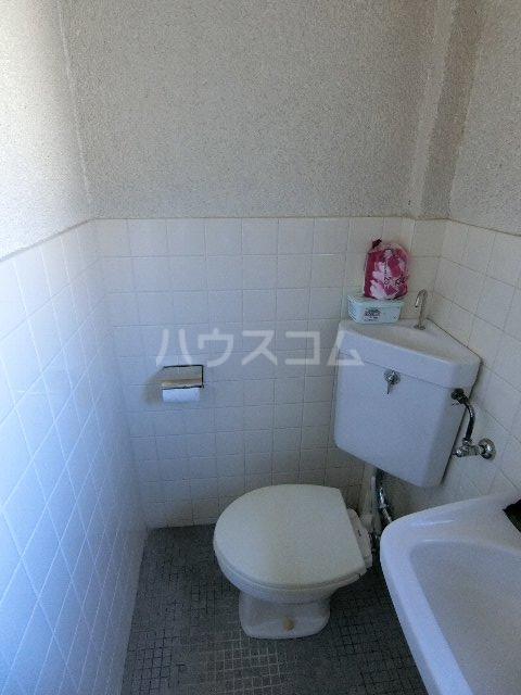川口ビル 302号室のトイレ