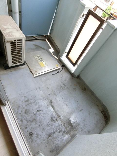メゾン・ド・エソール 907号室のバルコニー