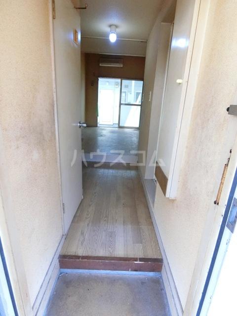 ウイング筥松 B105号室の玄関
