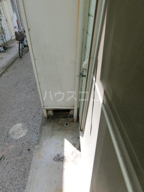 ウイング筥松 B105号室のバルコニー