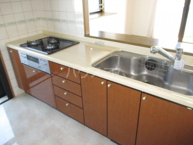 アンピール県庁駅前 1106号室のキッチン