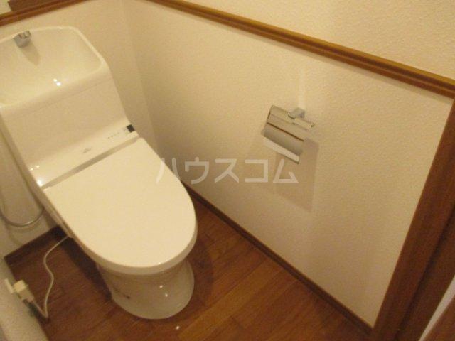 アンピール県庁駅前 1106号室のトイレ