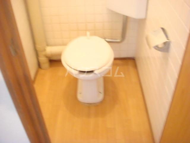 是永ビル 205号室のトイレ