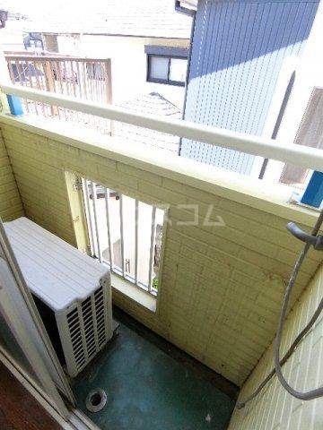 マキシム貝塚駅前 202号室のバルコニー