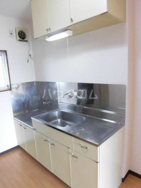 シャンブル24 401号室のキッチン