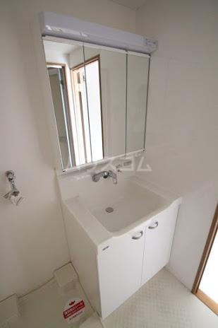 レジデンスHARUMI 305号室の洗面所
