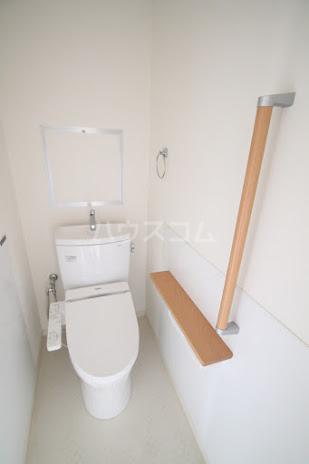 レジデンスHARUMI 305号室のトイレ