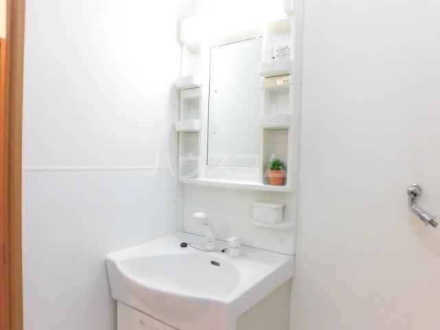 レジデンスHARUMI 403号室の洗面所